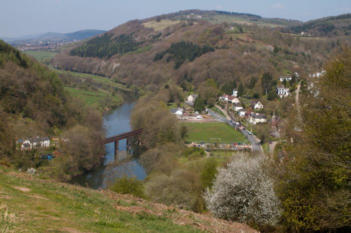 Part of the Offa's Dyke Path