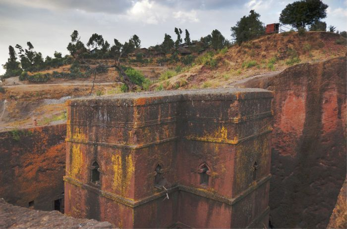 Church of Bet Giyorgis, Lalibela, Ethiopia