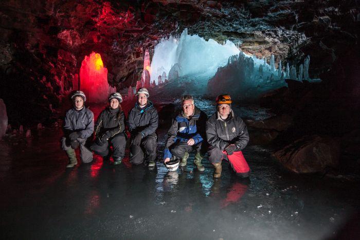 Lofthellir Lava Cave, Iceland