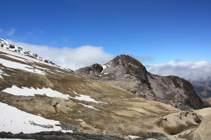Mount Cayambe, Ecuador