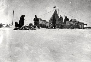 Nobu Shirase on the Japanese Antarctic expedition