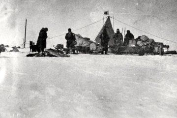 Nobu Shirase on the Japanese Antarctic expedition