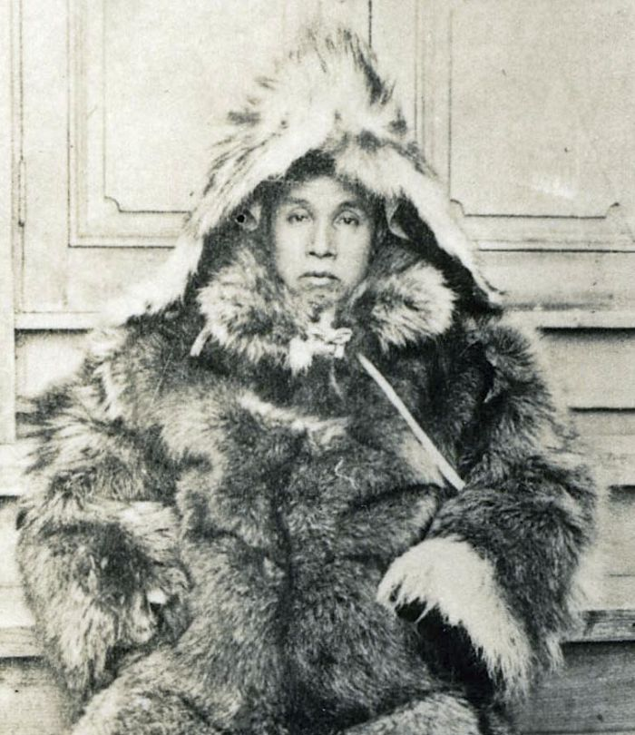 Japanese explorer Nobu Shirase