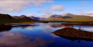 Scotland drone footage