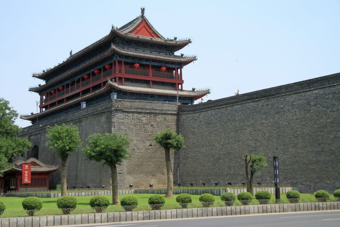 Xi'an City wall, China
