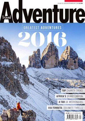 Adventure Travel magazine issue 121