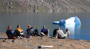 Doug Cooper and expedition team, Greenland