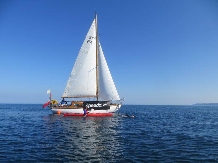 Sean Conway sailboat