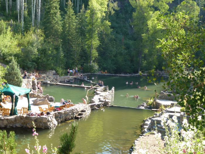 Strawberry Park Hot Springs, Colorado