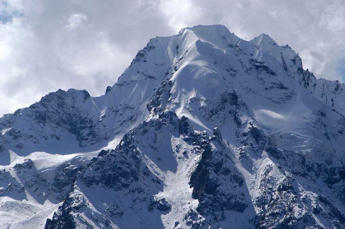 Naya Kanga peak, Nepal