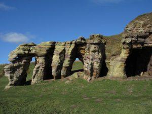 Calpie Caves, Fife coastal walk