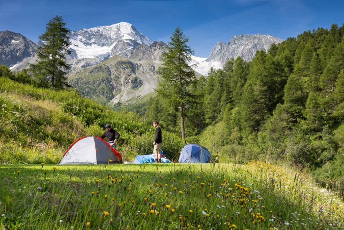 Camping Arolla, Switzerland