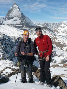 Kenton Cool with Sir Ranulph Fiennes, Everest