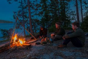 Ray Mears, Temagami, Ontario, Canada