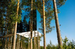 Treehouse hotel, Sweden