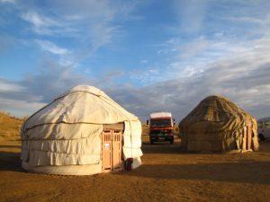 Yurts in Uzbekistan