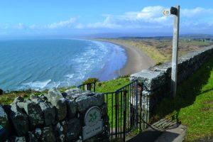 Sea view, Welsh Coast Path