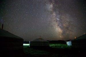 Camping, Mongolia
