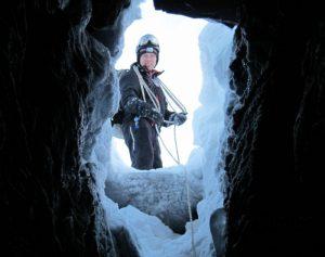 Winter caving, Sweden