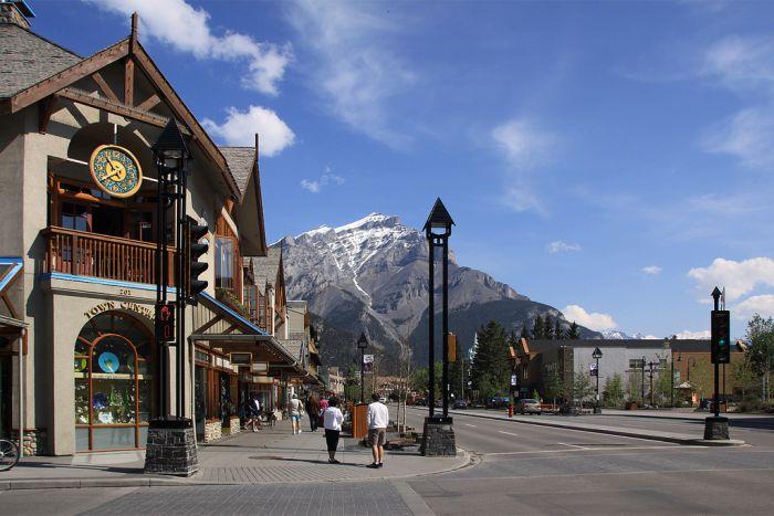Banff Town Centre, Alberta, Canada