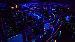 Laser quest in Les Arcs 1800