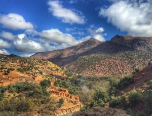 Alice Morrison in the Atlas Mountains