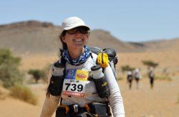 Alice Morrison in the Marathon des Sables