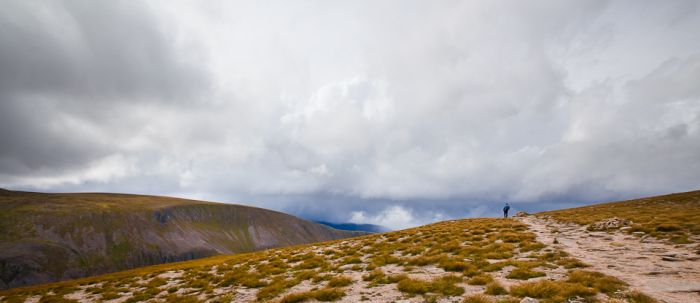 Braeriach Ridge, Cairngorms, Angel's Peak, Scotland