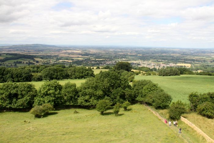 The Cotswold Way view