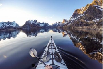 Kayaking Norway