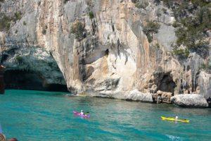 Kayaking, Gulf of Orosei, Sardinia