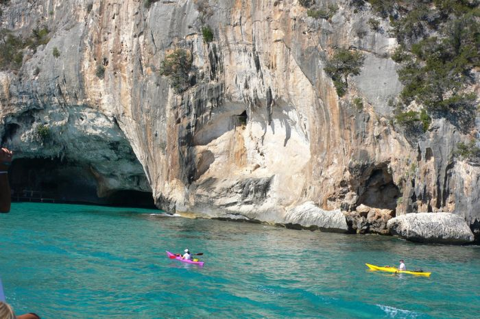 Kayaking, Gulf of Orosei, Sardinia