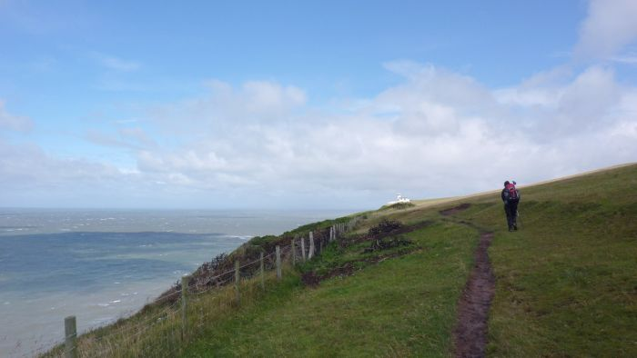 The Coast to Coast Walk: St Bees Head, Cumbria