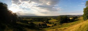 A view from the Cotswold Way