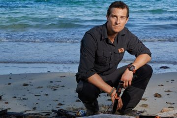 Bear Grylls, The Island