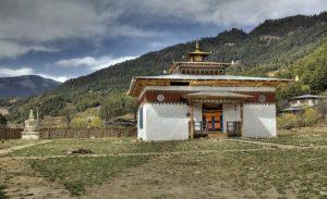 Bumthang building, Bhutan