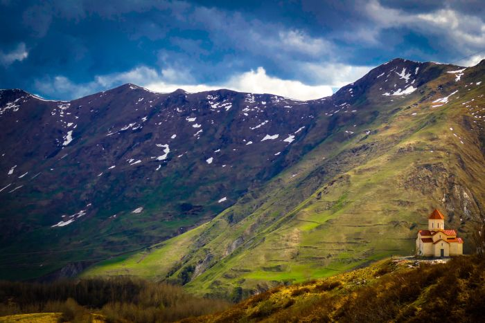 Hiking on the Transcaucasian Trail