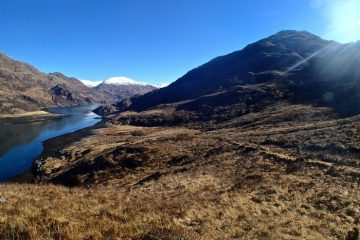 Louch Hourn - The Cape Wrath Trail