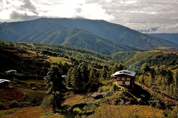 The Tang Valley, Bumthang, Bhutan