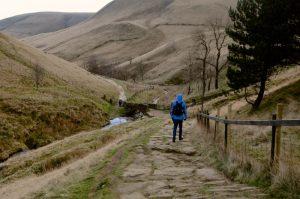 The Pennine Way-Peak District, England, UK