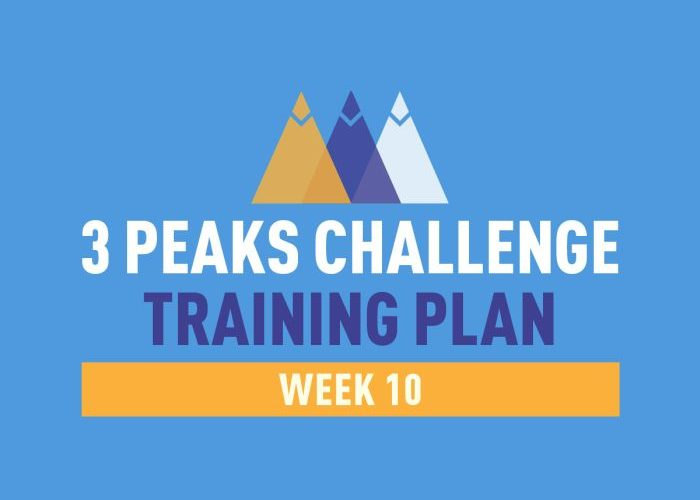 Three Peaks Challange training