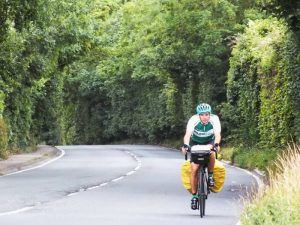 Adam Sultan, cycling around the world