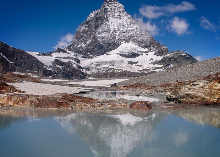 The east face of the Matterhorn