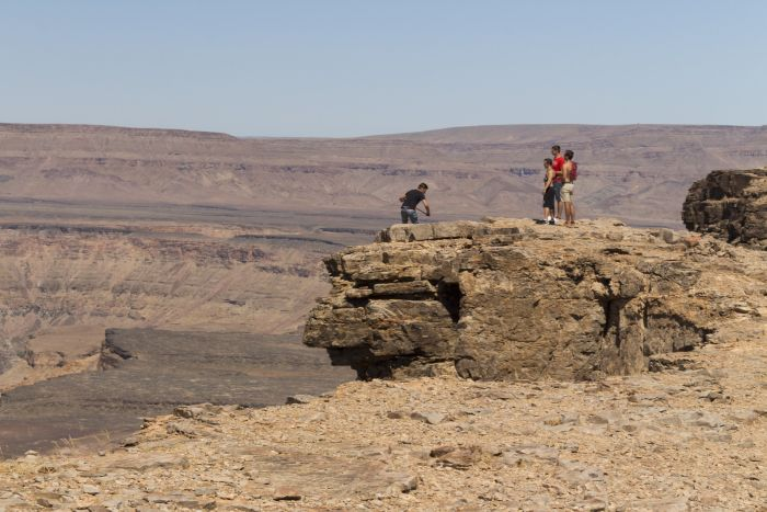 Trekking Fish River Canyon, Namibia
