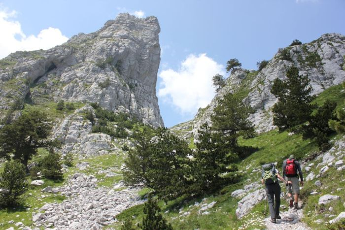 Hiking, Valbona Valley, Albania