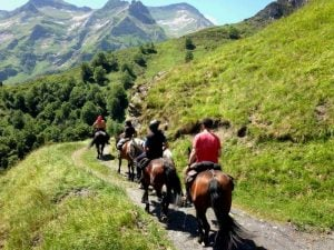 Horse trekking, The Pyrenees