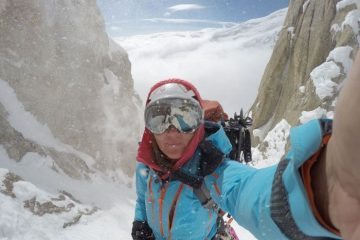 Masha Gordon on Denali