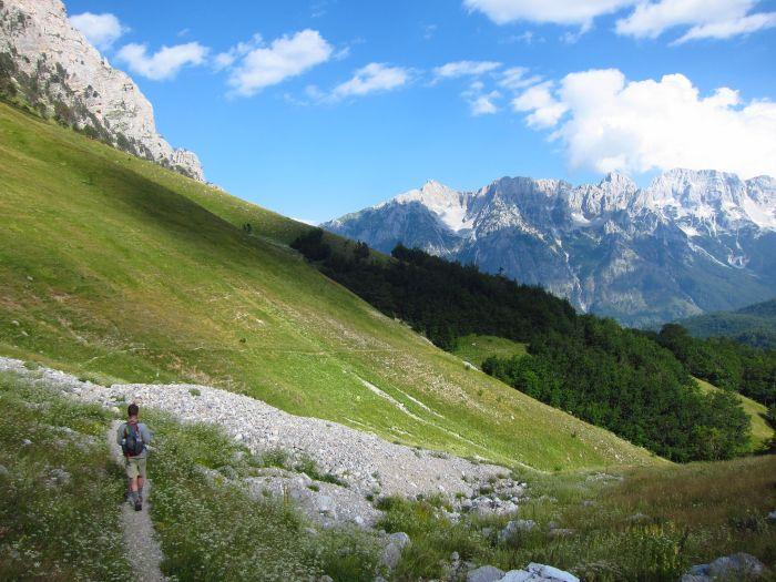 Trekking, Valbona, Albania