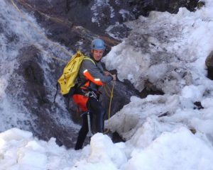 Winter canyoning, The Pyrenees