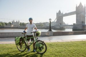 Adam Sultan, cycling the world